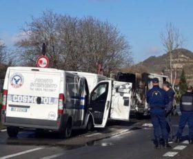 Scena da far west sul raccordo autostradale Salerno-Avellino, assalto a dei portavalori