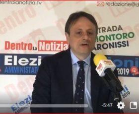 Spazio elettorale autogestito:  il candidato a consigliere Antonio Cerrato per la lista Nova Montoro con Girolamo Giaquinto sindaco