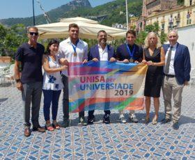 Unisa saluta l'Universiade 2019 | Festa finale con gli studenti protagonisti dell'evento
