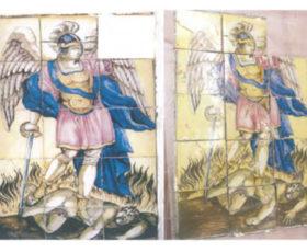 Contrada. Domani Il pannello di San Michele Arcangelo viene restituito alla comunità dai carabinieri