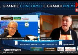 La prima ricetta di Emilio Taiani per il concorso di cucina creativa