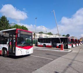 Cava de Tirreni: inaugurata la nuova area bus, auto, treno