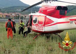 Ritrovata la donna dispersa a Forino con l'ausilio di un elicottero e tanti volontari